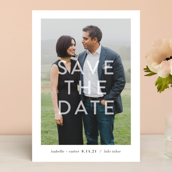 You + Me Save the Date by Robin Ott