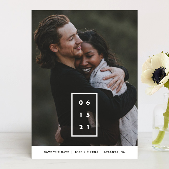Cherished Date Save the Date by Chryssi Tsoupanarias