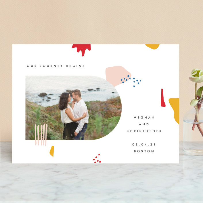 Emilie Save the Date by Karen Schipper
