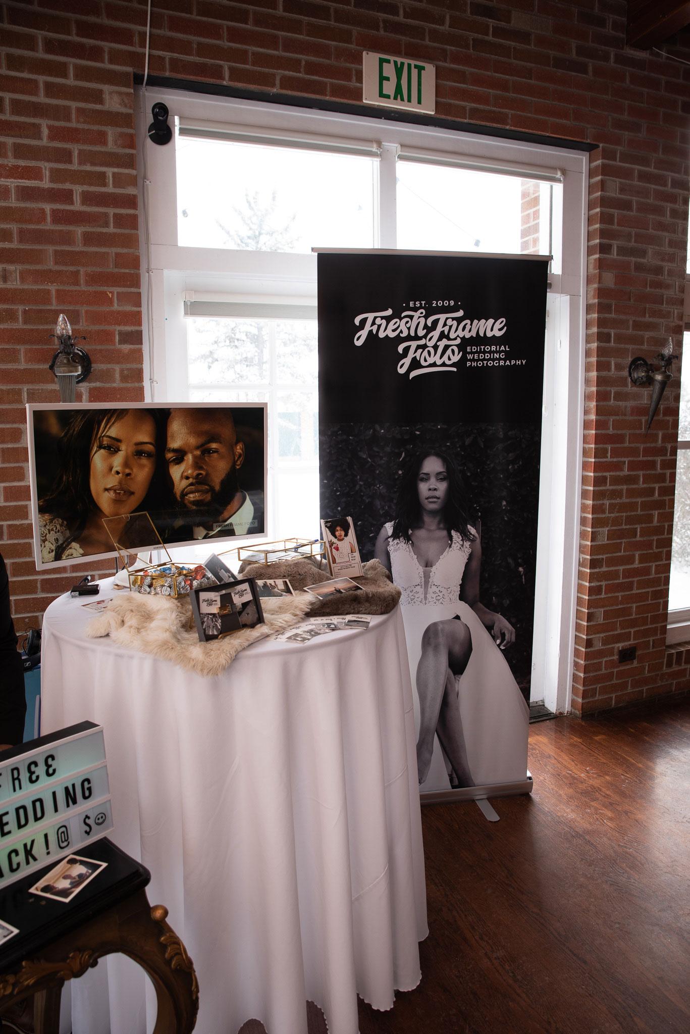 Fresh Frame Foto at the Cannabis Wedding Expo in Denver Colorado. Photo by Kenesha Facello.