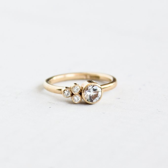 Mountain Side Provincial Ring by Elaine B Jewelry ,