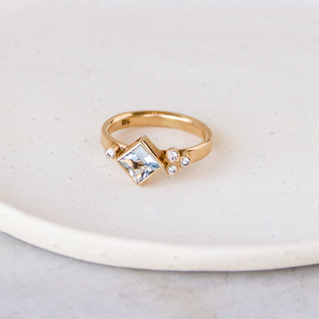 Sky Provincial Ring by Elaine B Jewelry