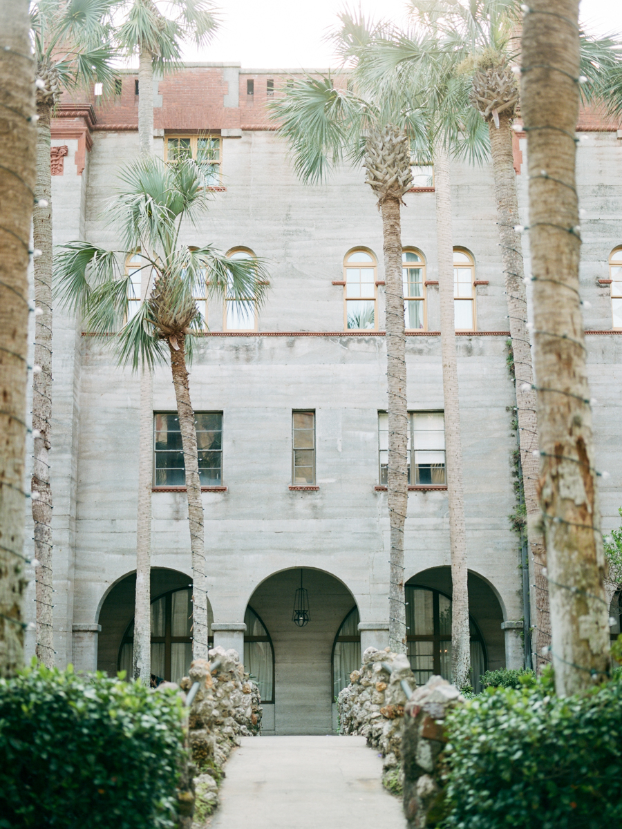 Allie and Ywanarai's wedding at the Lightner Museum in St Augustine Florida