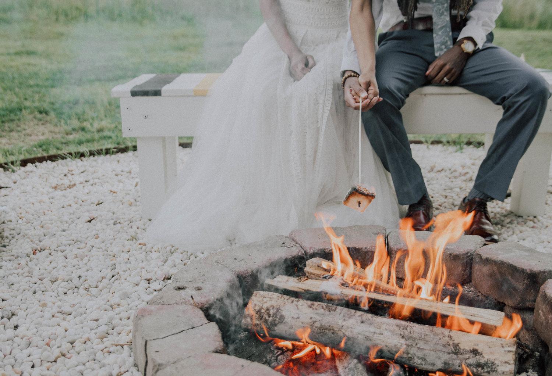 Asheville Glamping Elopement Inspiration by Folk + Wayfarer