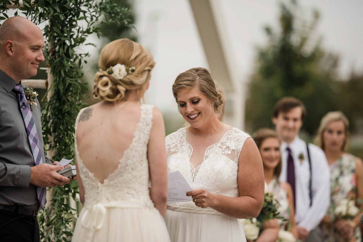 PAVILION WEDING KANSAS CITY MISSOURI Hey Tay Photography meredith reading vows