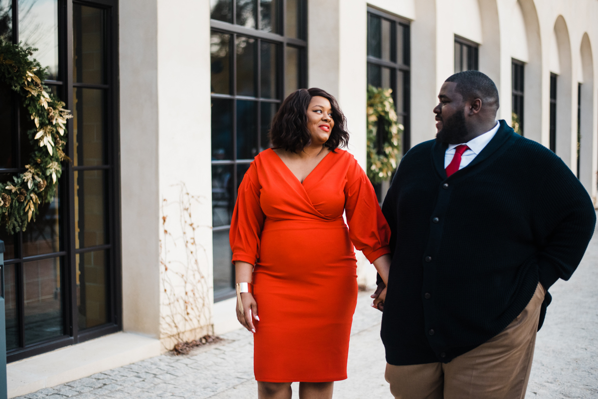 longwood gardens engagement kennett square pennsylvania sgw photography couple holding hands walking