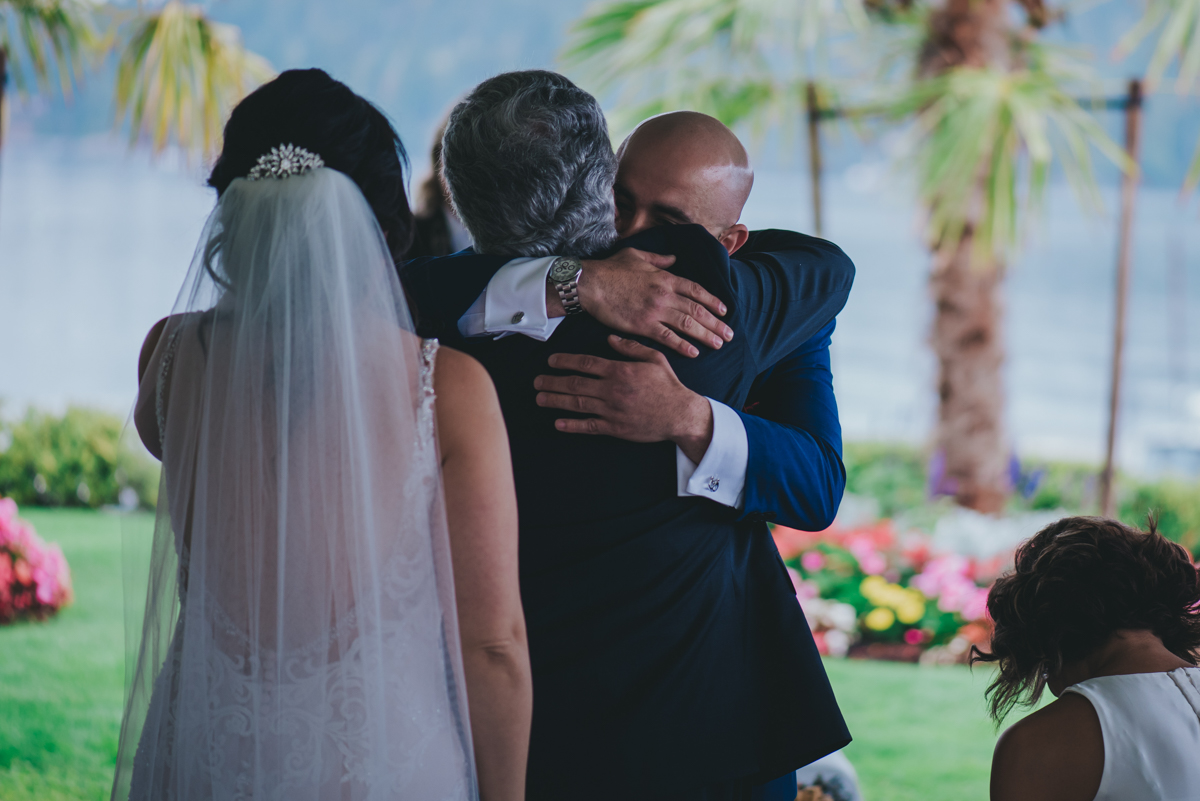 Persian-Canadian Wedding Innocent Thunder Photography Sooke Victoria Canada amin hugging golly's father