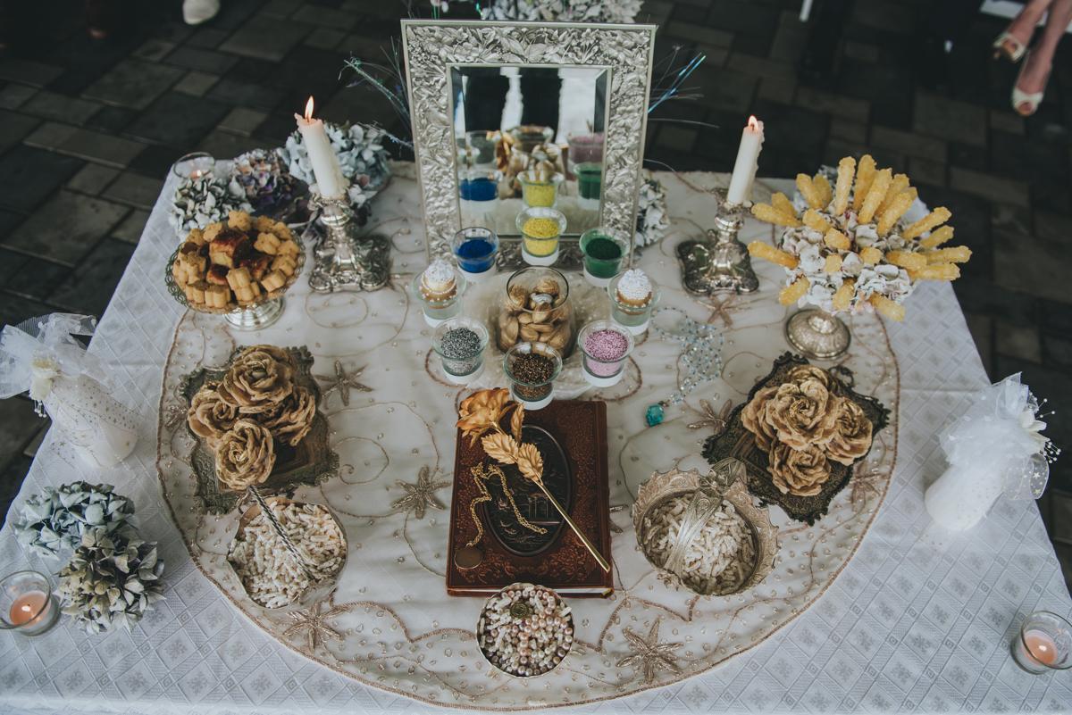 Persian-Canadian Wedding Innocent Thunder Photography Sooke Victoria Canada persian wedding table
