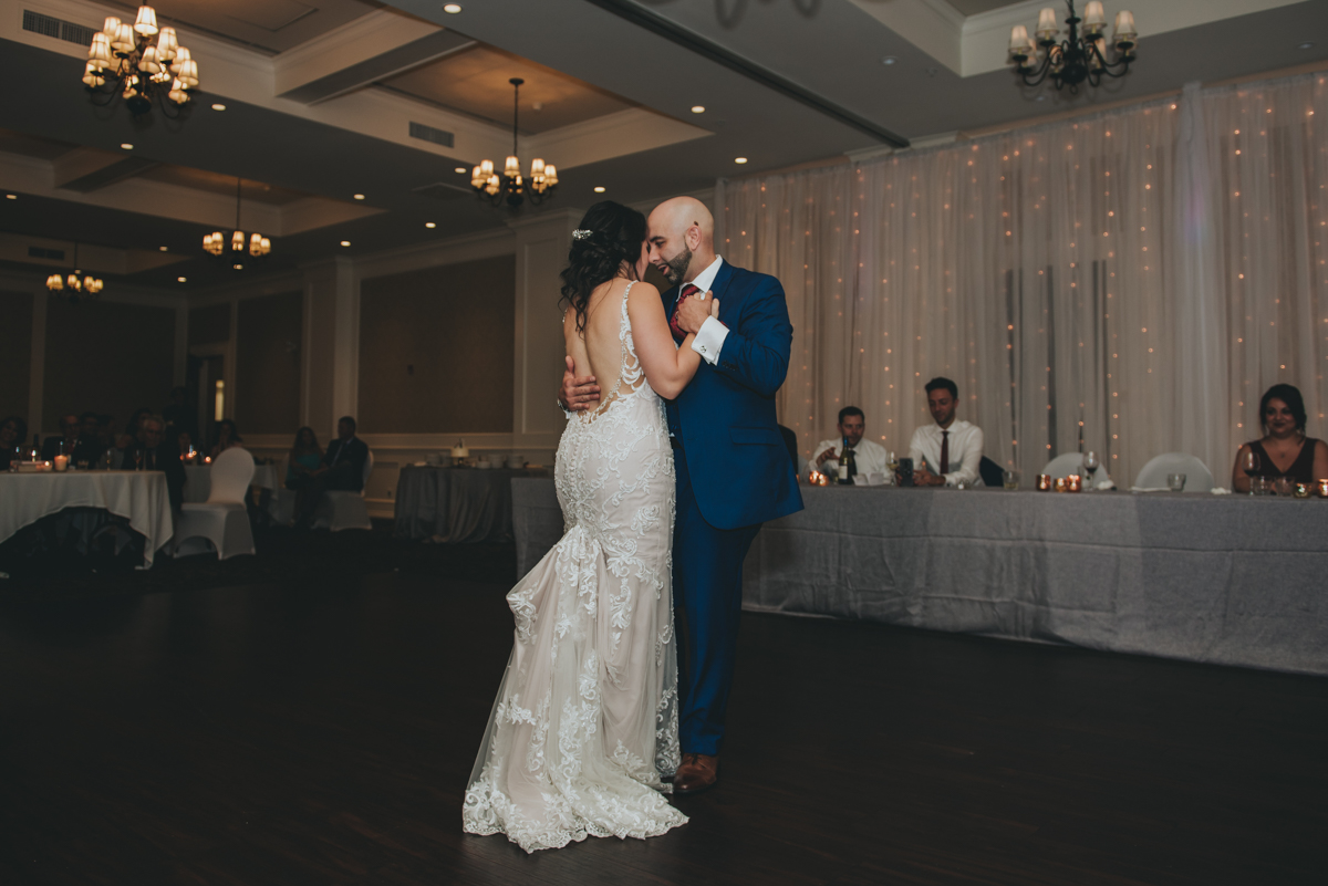 Persian-Canadian Wedding Innocent Thunder Photography Sooke Victoria Canada bride and groom's first dance