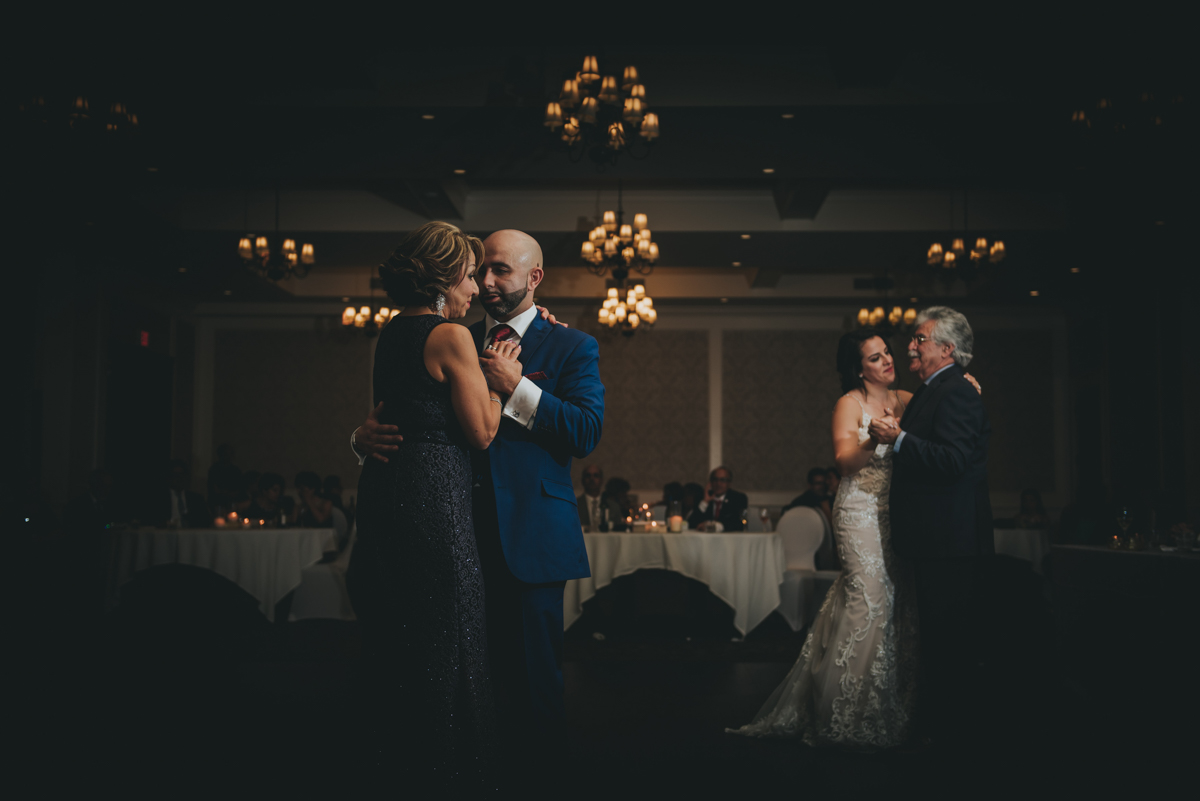 Persian-Canadian Wedding Innocent Thunder Photography Sooke Victoria Canada bride and groom dancing with parents