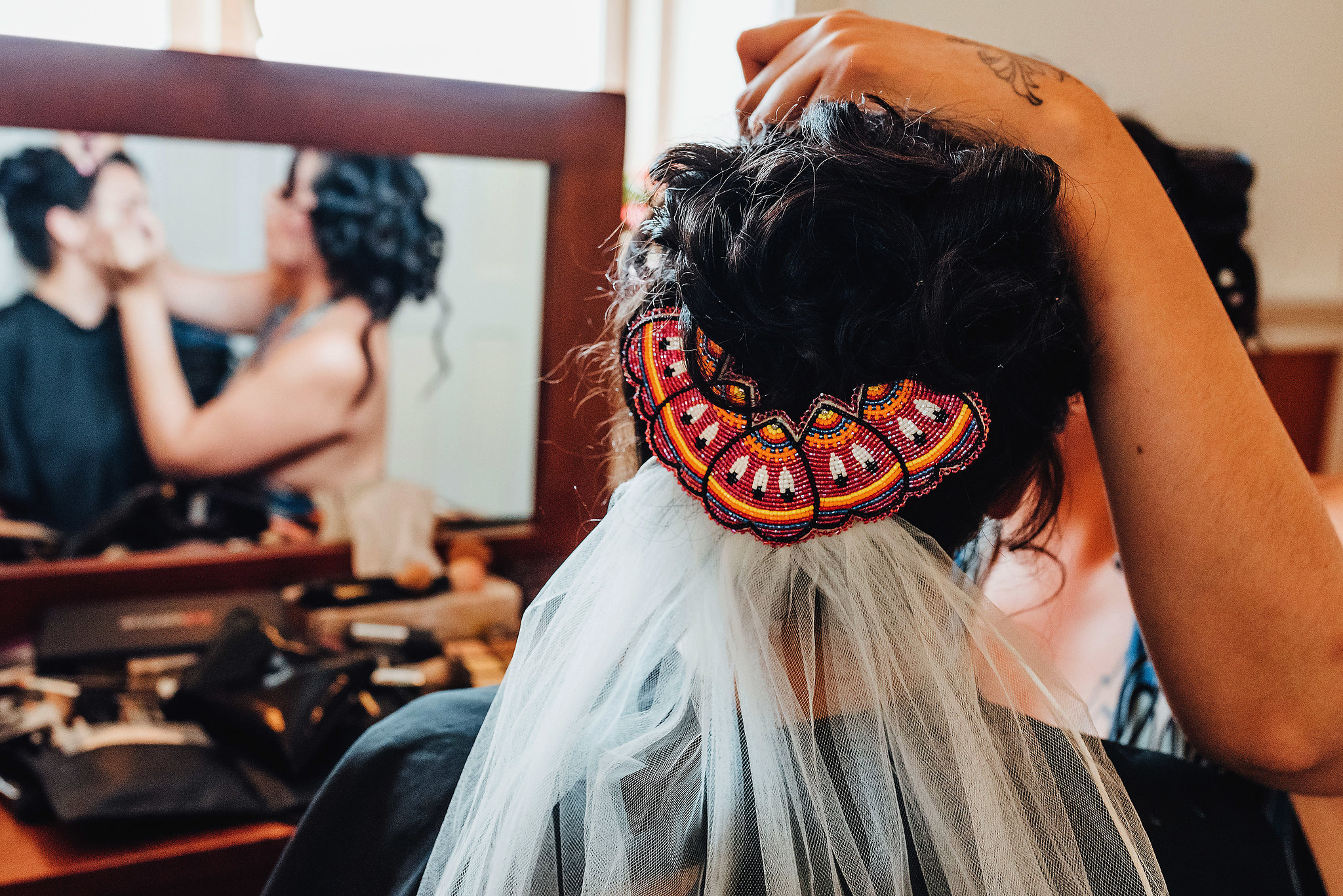 Onowa and Paul's Cree and Māori multicultural wedding in Victoria British Columbia Canada