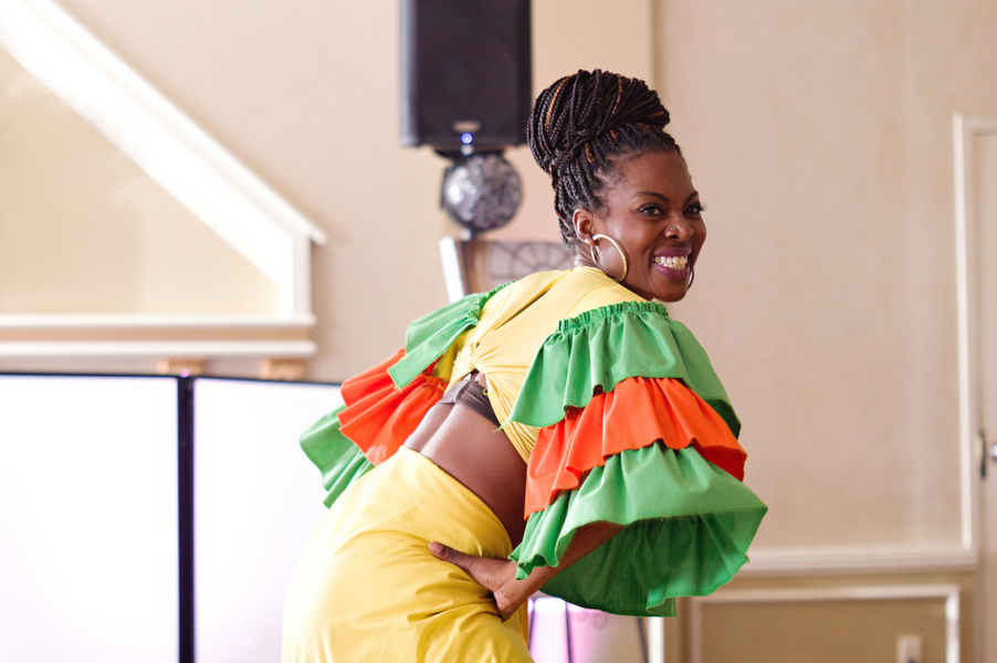 Julie and Kevin's African Caribbean and Canadian wedding in Edmonton Alberta
