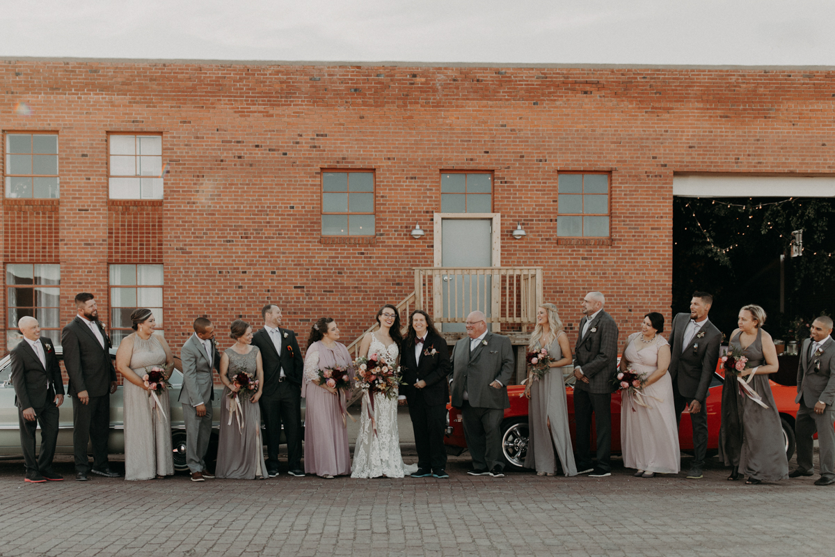 ABBY AND NICK WEDDING AMARILLO TX RITTER COLLECTIVE PHOTOGRAPHY FULL WEDDING PARTY