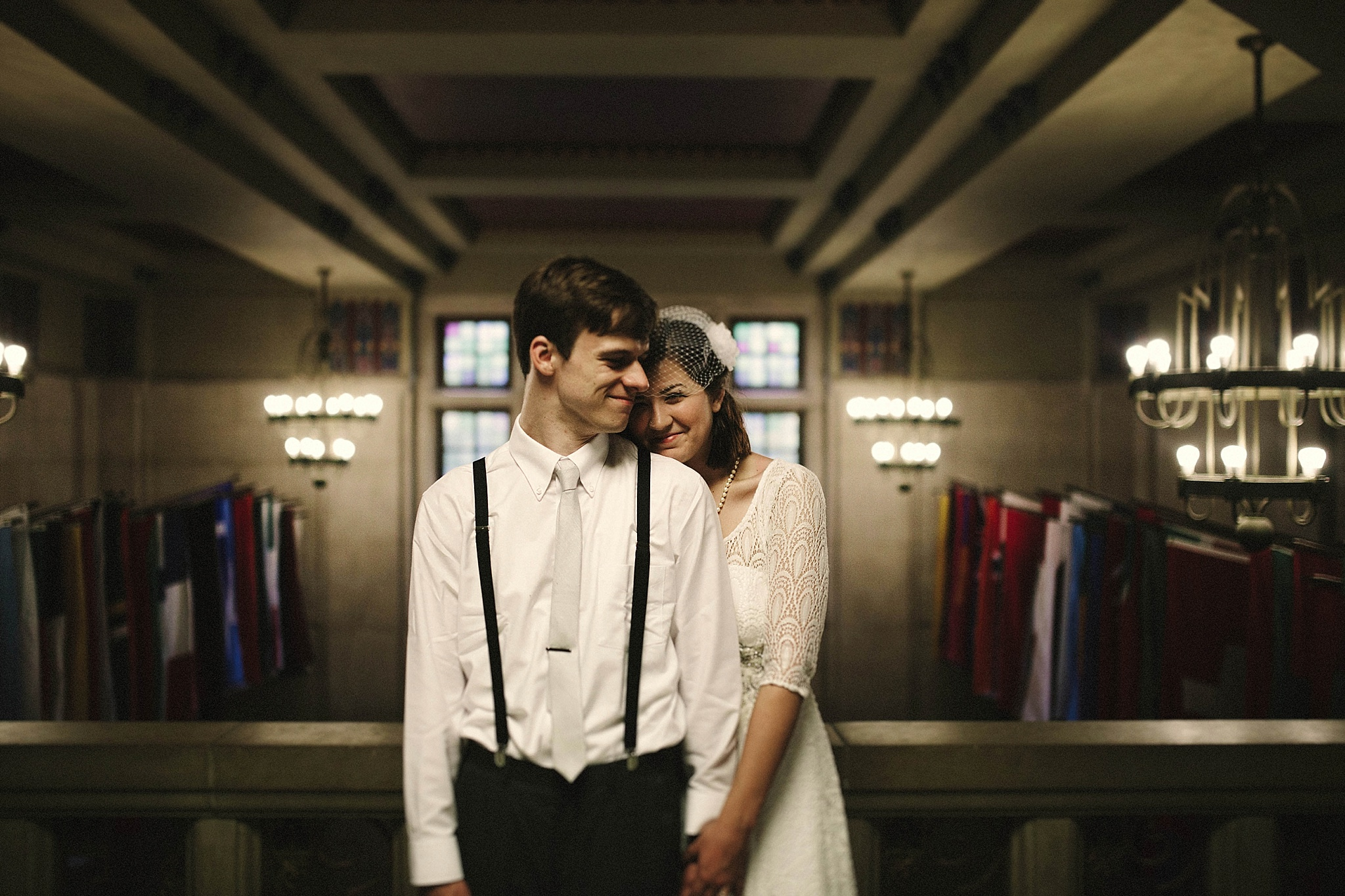 Sarah-Jean and Kent's DIY Courthouse wedding with vintage flare Brandi Potter Photography