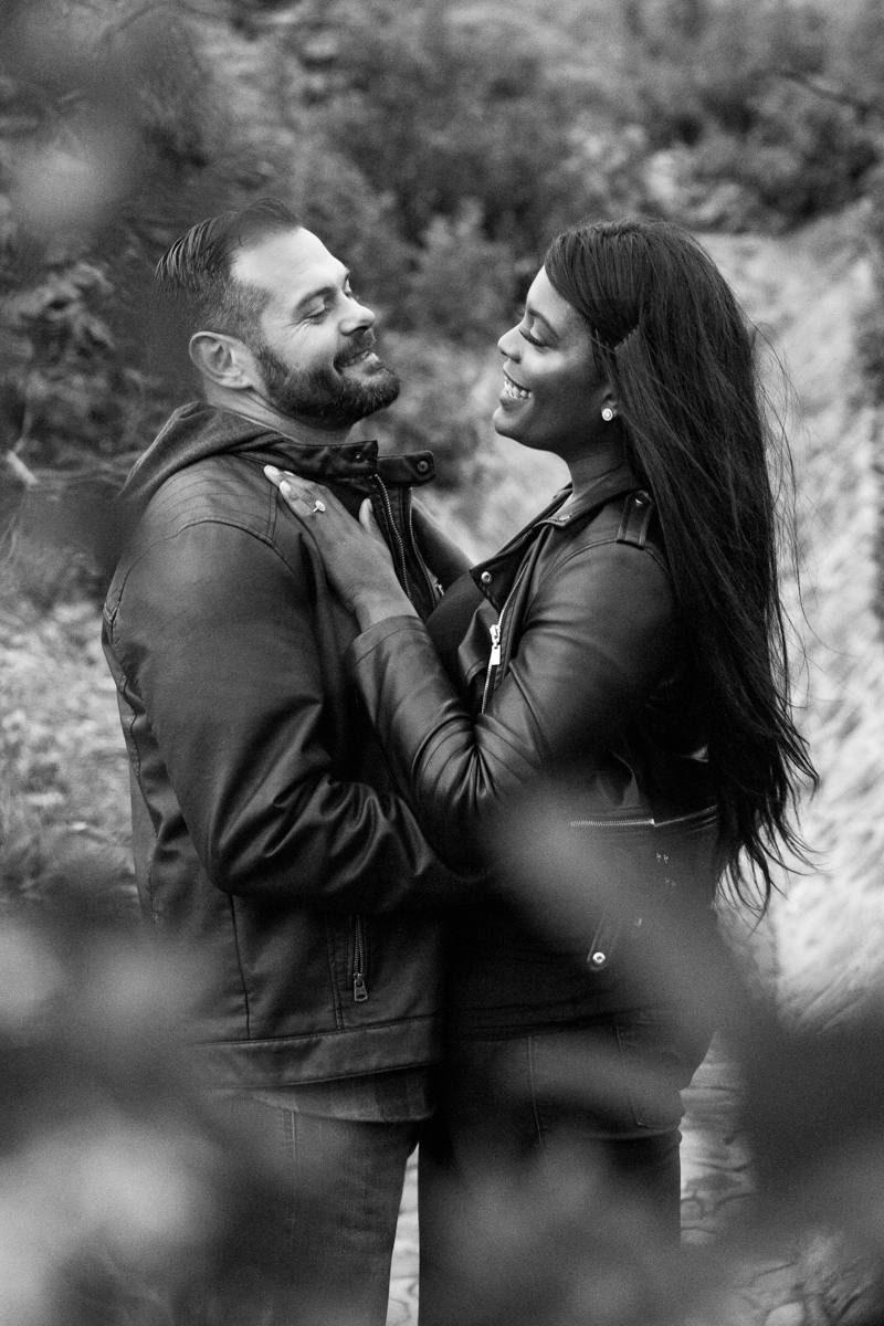 irvine regional park engagement session crystal lilly photography couple smiling