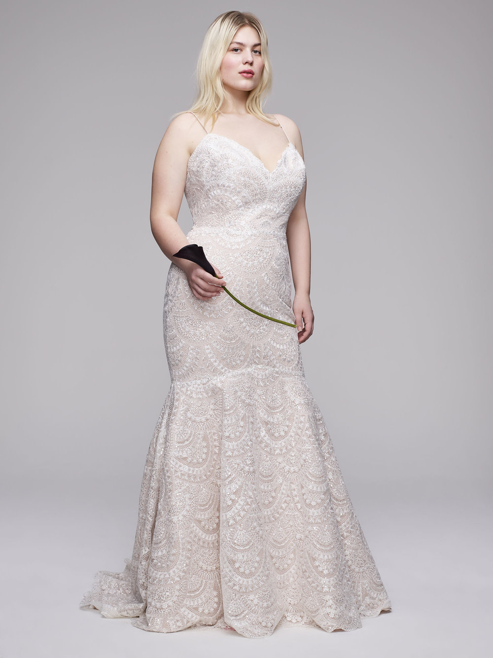 The Zurie Plus Size Wedding gown from Curve Couture by Anne Barge