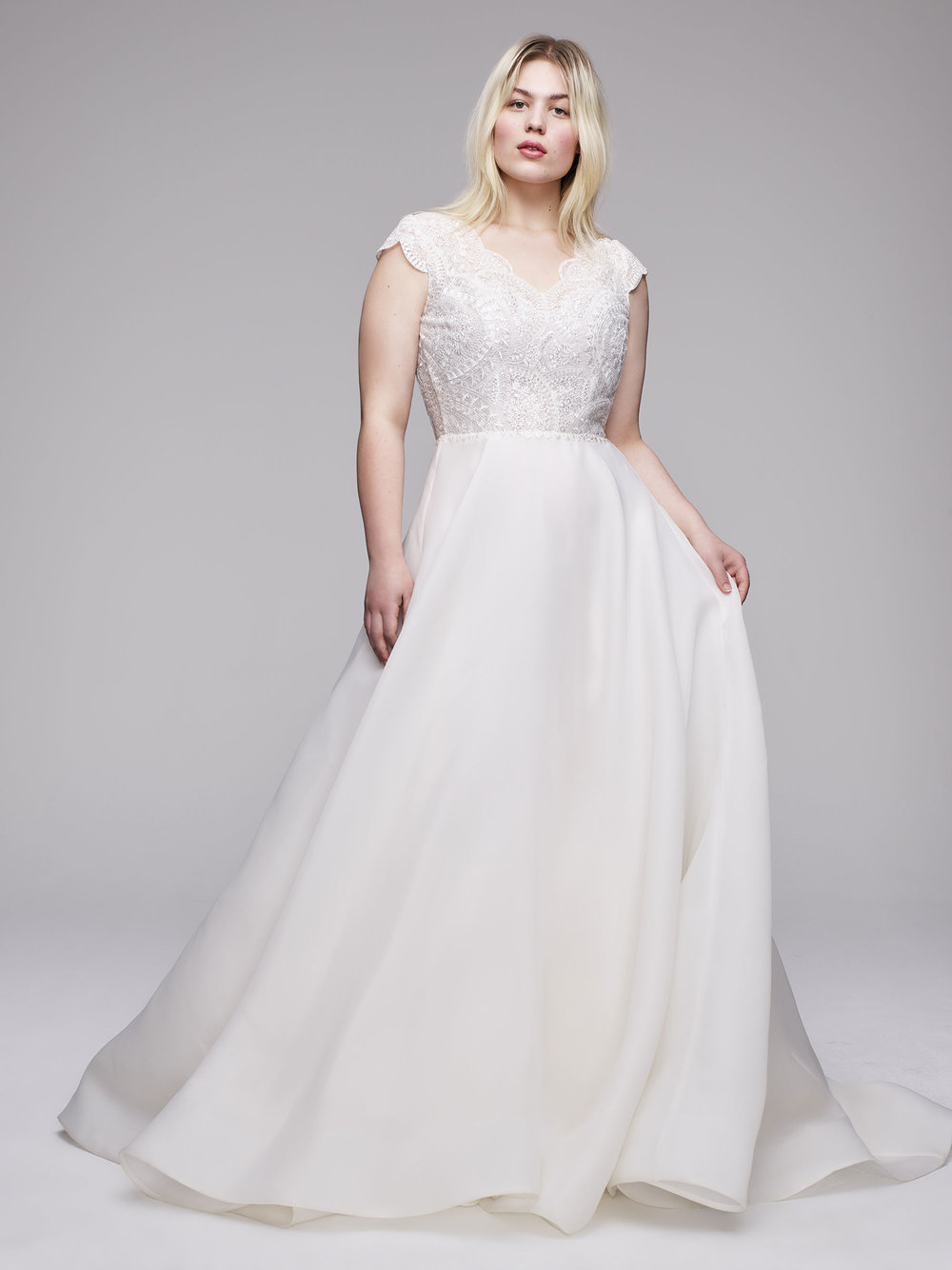 Plus Size Designer Wedding Gowns from Curve Couture by Anne Barge