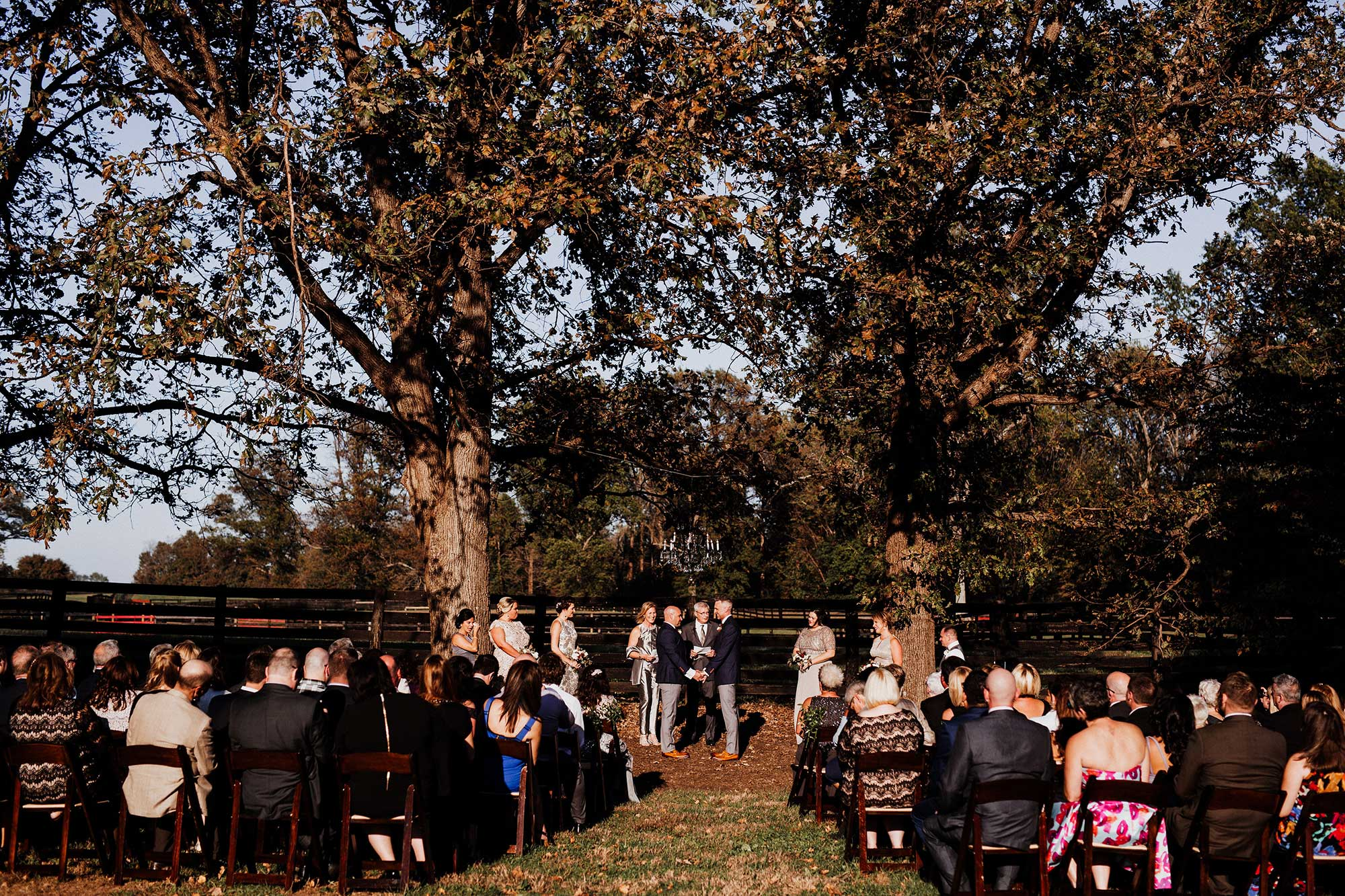 LGBTQ Louisville Kentucky Wedding at Hermitage Farm Crystal Ludwick Photo ceremony