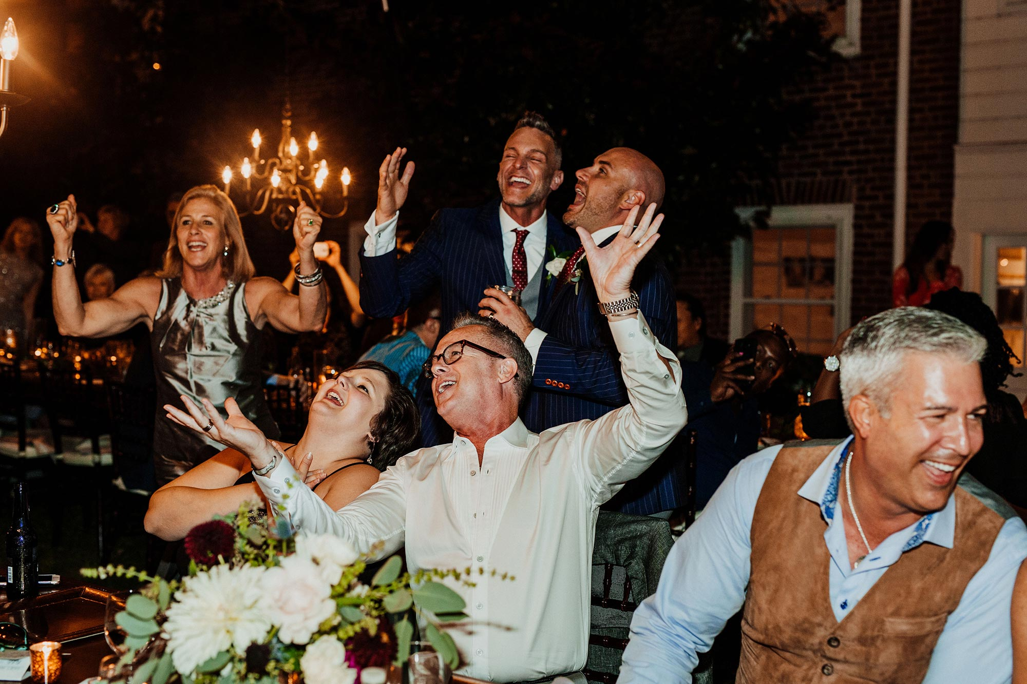 LGBTQ Louisville Kentucky Wedding at Hermitage Farm Crystal Ludwick Photo guests dancing