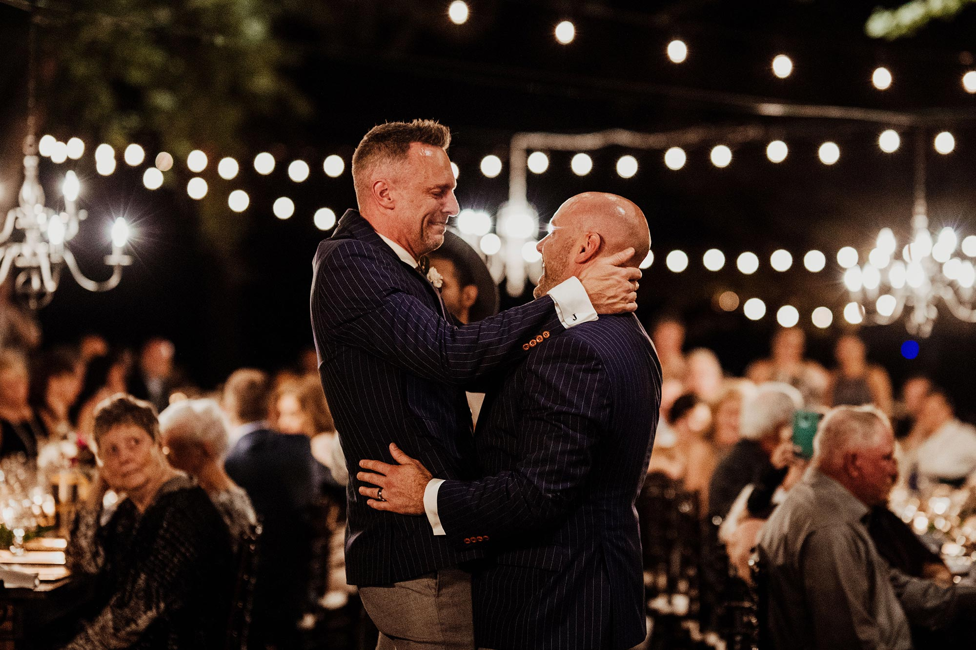 LGBTQ Louisville Kentucky Wedding at Hermitage Farm Crystal Ludwick Photo emotional dance