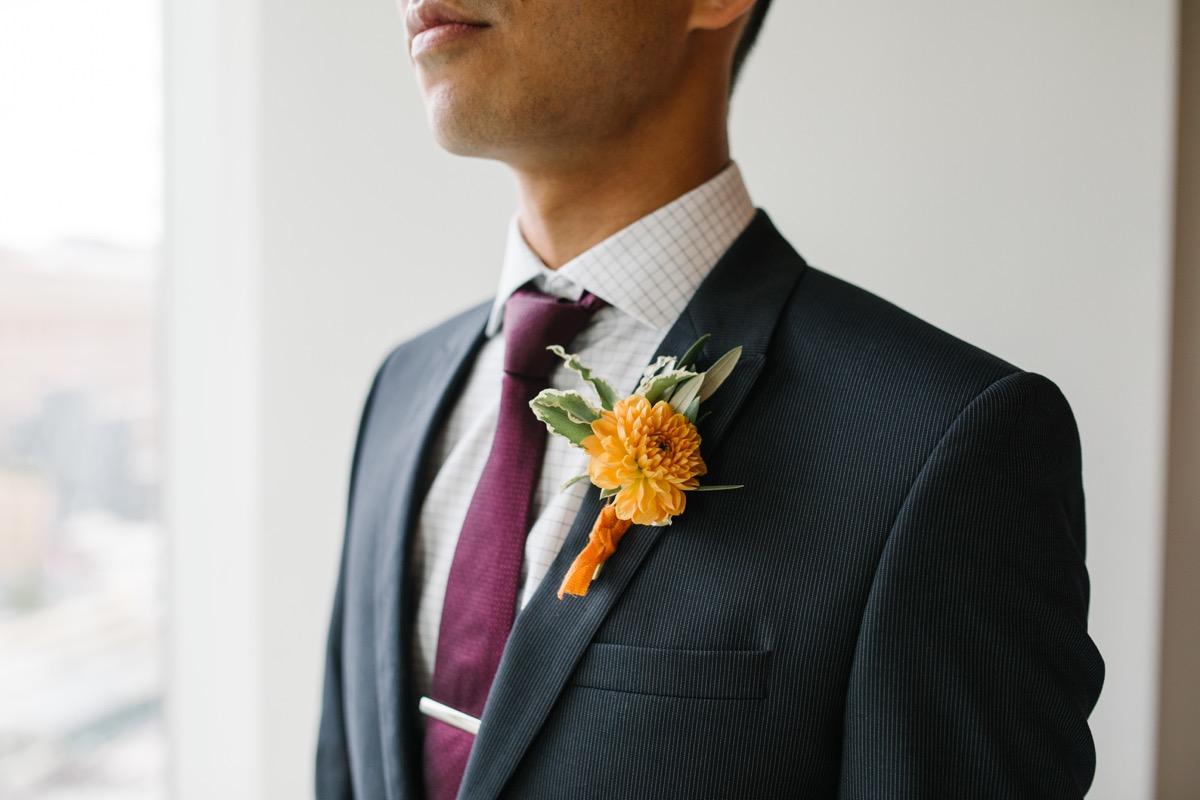 modern mediterranean wedding meatpacking district new york city rima brindamour photography alex in suit