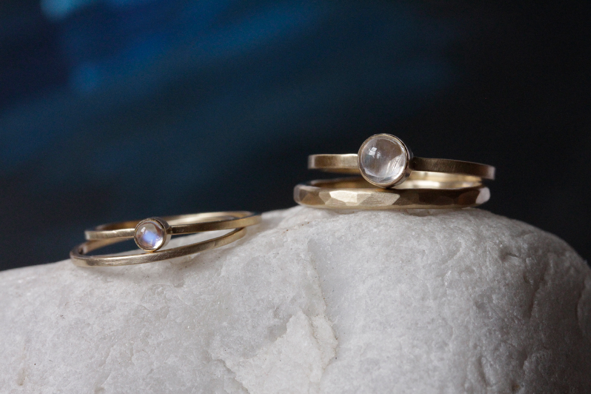 Handmade Rings by Rebecca Mir Grady