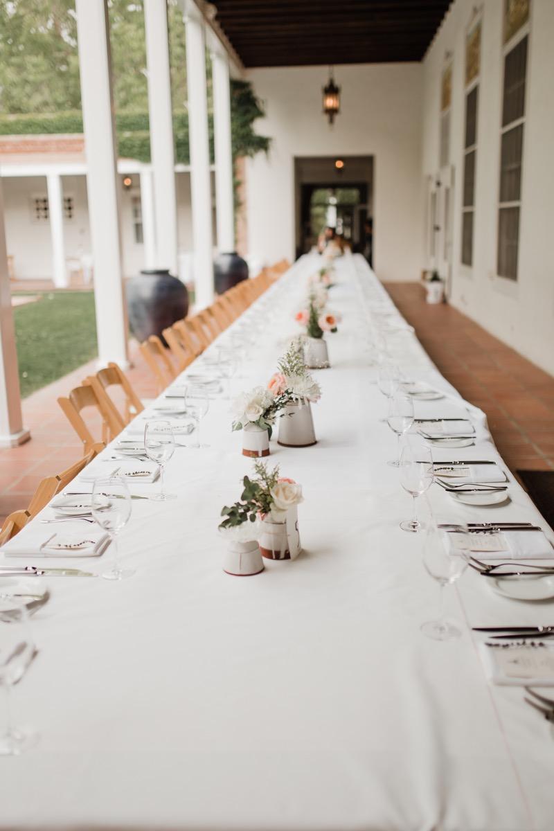lAVENDER FARM WEDDING ALBUQUERQUE NEW MEXICO ALICIA LUCIA PHOTOGRAPHY LONG GUEST TABLE