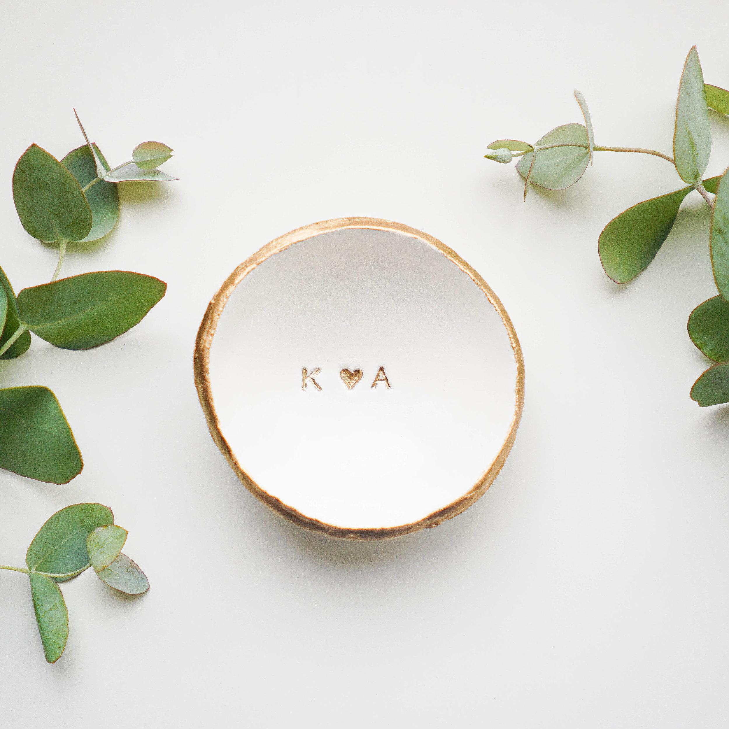 Ceramic Rose  Ring Dish Hold your Wedding Rings Small Rose Ring Dish Flower Dish Rose Ring Dish Wedding Rings dish Rose Flower Dish