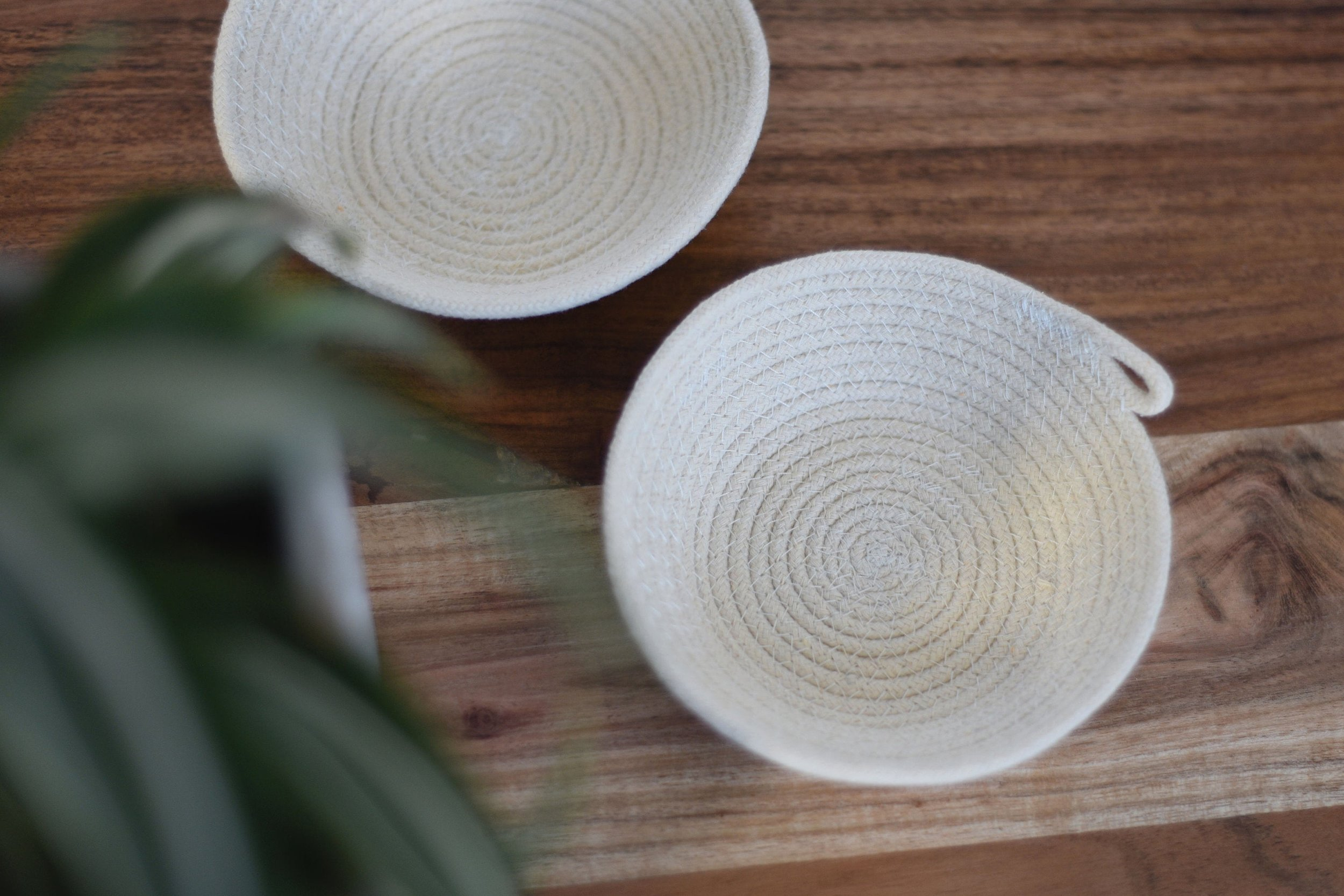 Small Rope Wedding Ring Dish by Little Button Club
