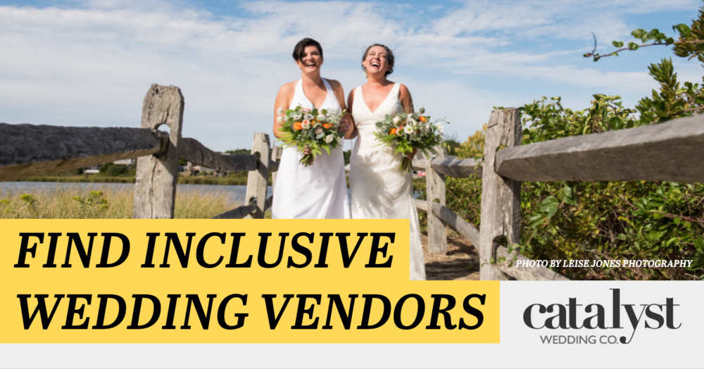 Find Inclusive Wedding Vendors - Photo by Leise Jones Photography