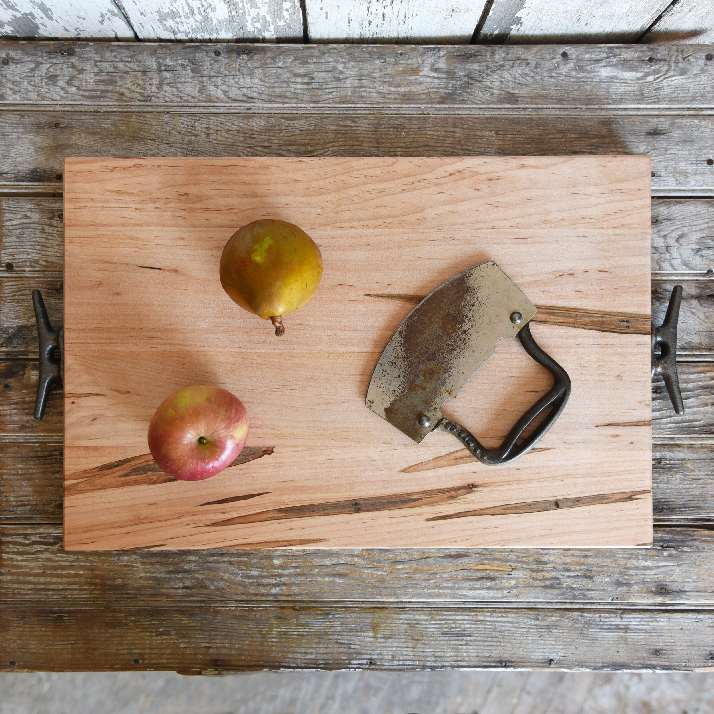Sustainably Sourced Wooden Cutting Board and Serving Tray by PEg & Awl