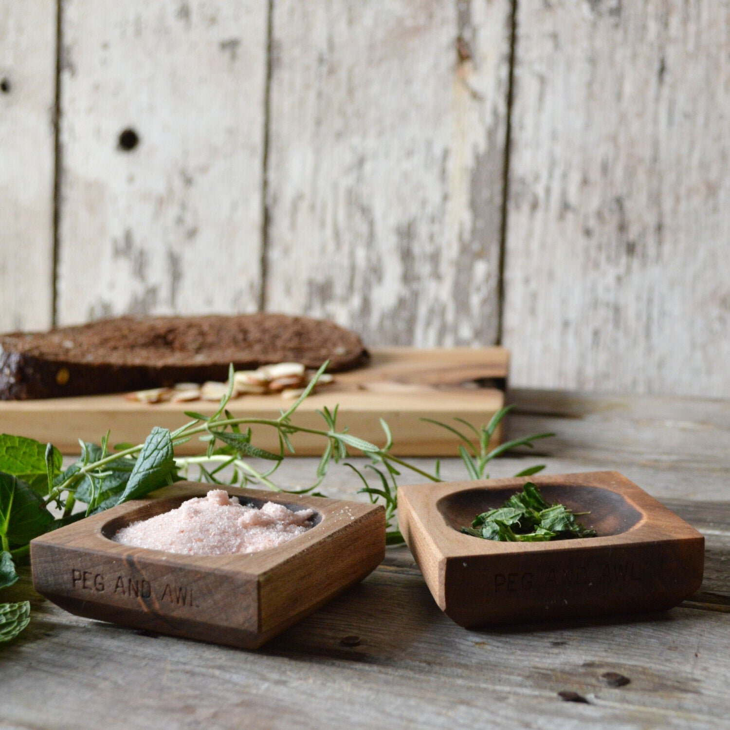 Sustainably SourceD Wooden Pinch Bowls by Peg & Awl