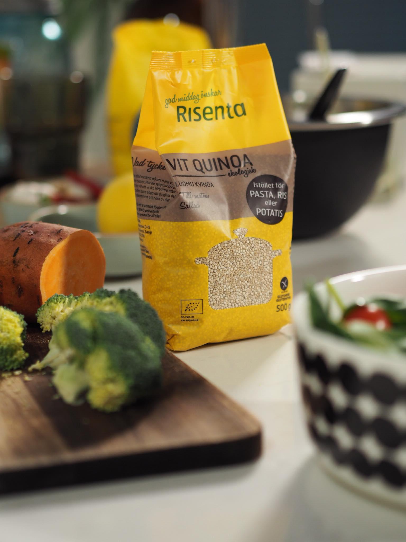 Risentan kvinoa   on luomua! <3 Katso kokkailu ja Mamma Mian 6. jakso   täältä!