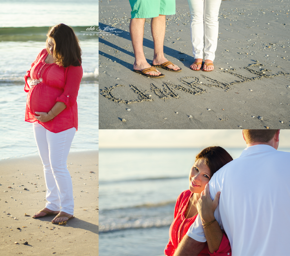 Beach Maternity Photography // Jupiter, Florida // Ebb and Flow Photography