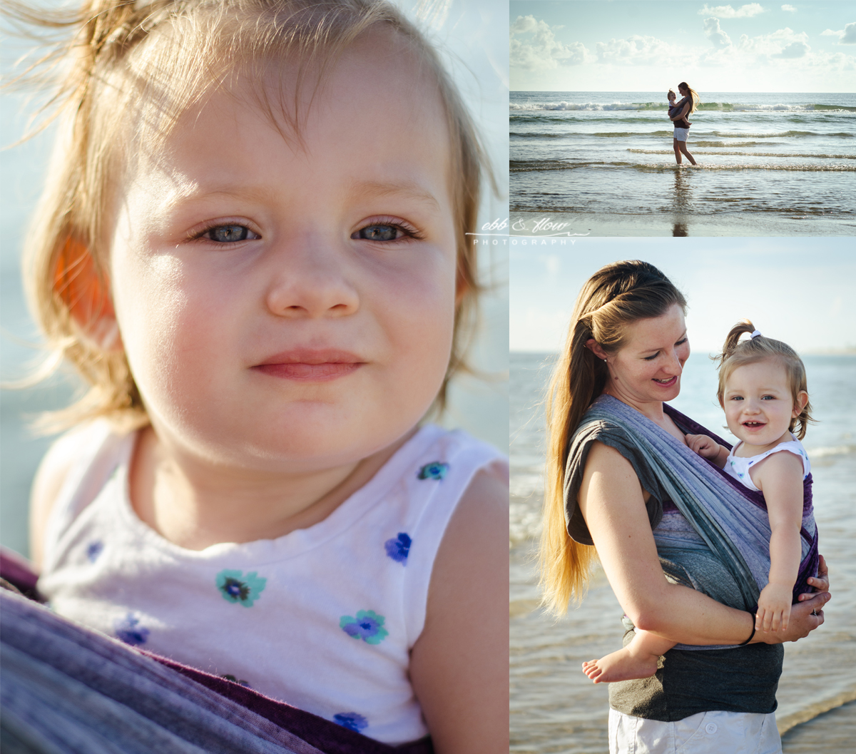 Wrapsody Lily Breeze - Treasure Coast Babywearing Photographer - Ebb and Flow Photography