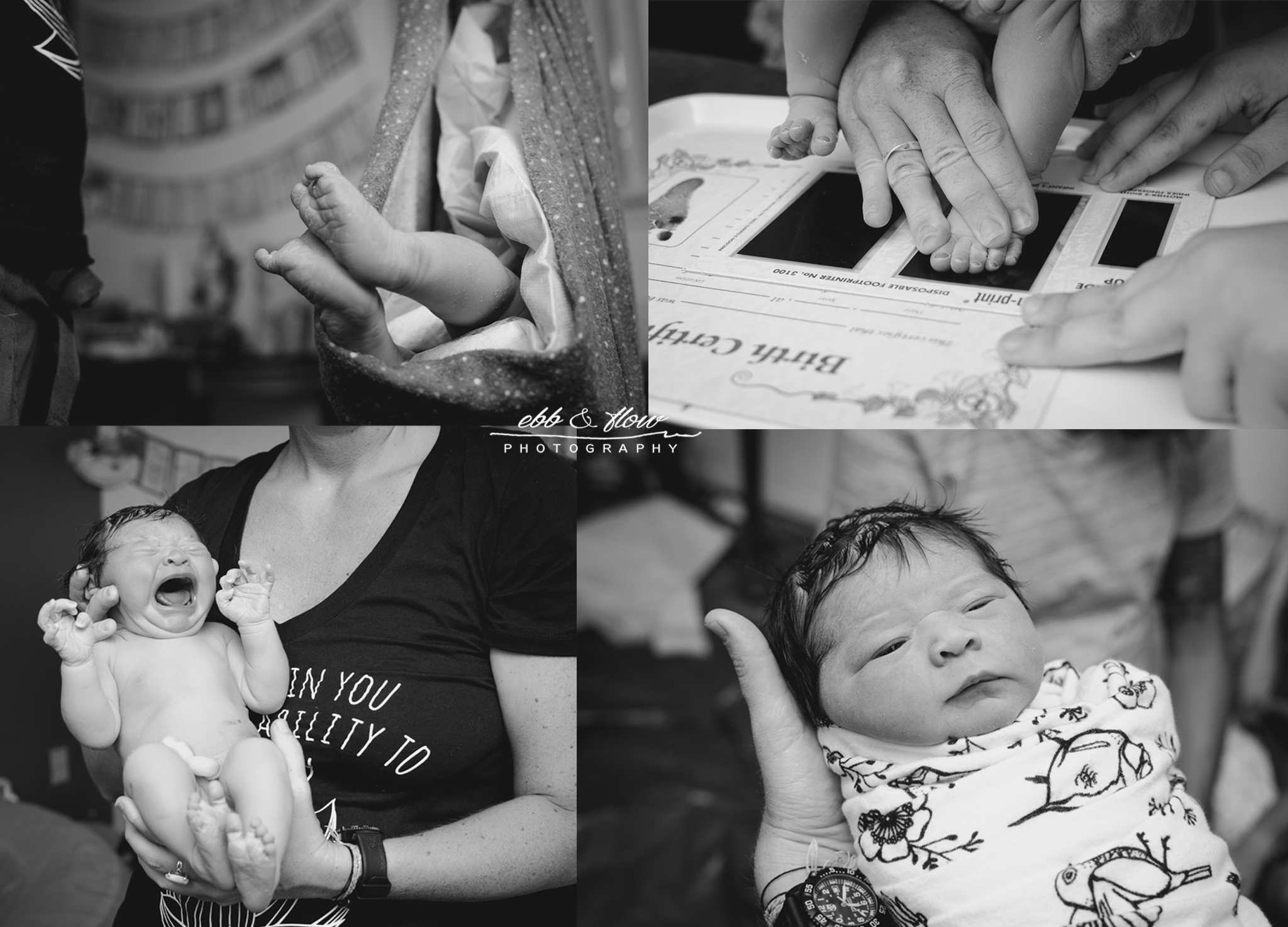 homebirth newborn exam - vero beach birth photographer - treasure coast birth photographer