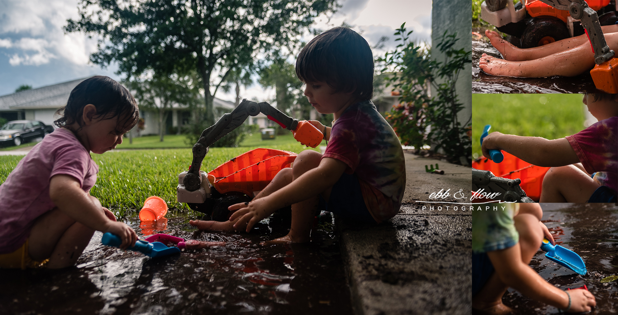 muddy puddles - save a story initiative - ebb and flow photography