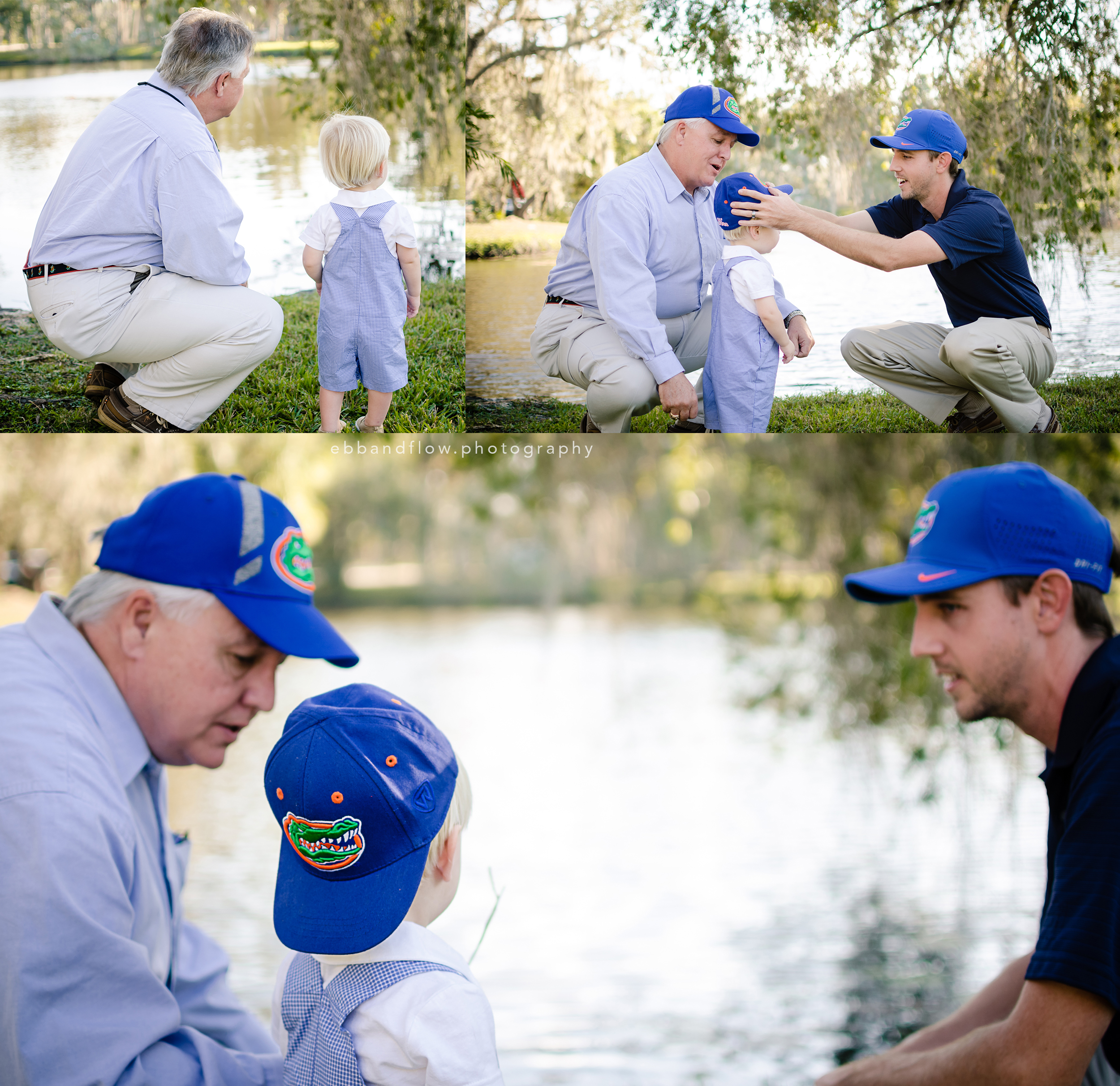 Gator Fans - Fort Pierce - Treasure Coast Family Photographer - Ebb and Flow Photography