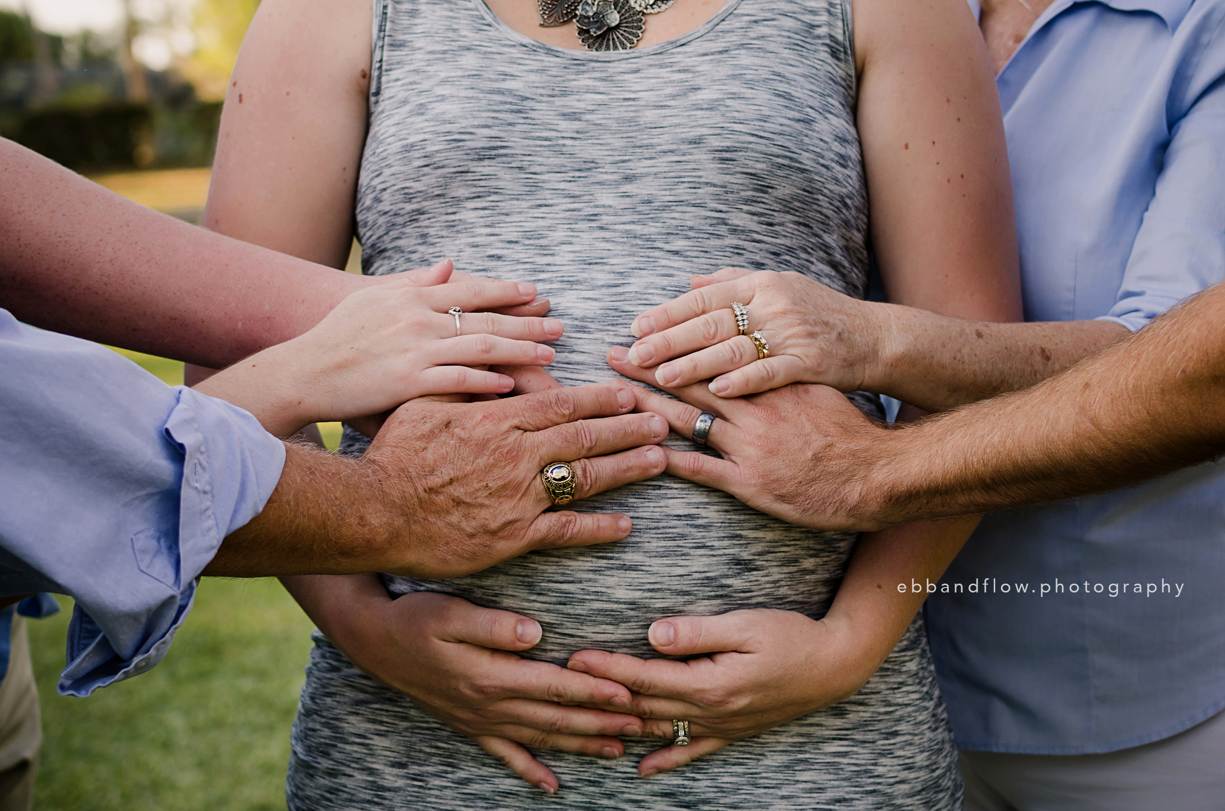 It takes a village - Maternity - Generations Family Session - Fort Pierce - Treasure Coast Family Photographer - Ebb and Flow Photography
