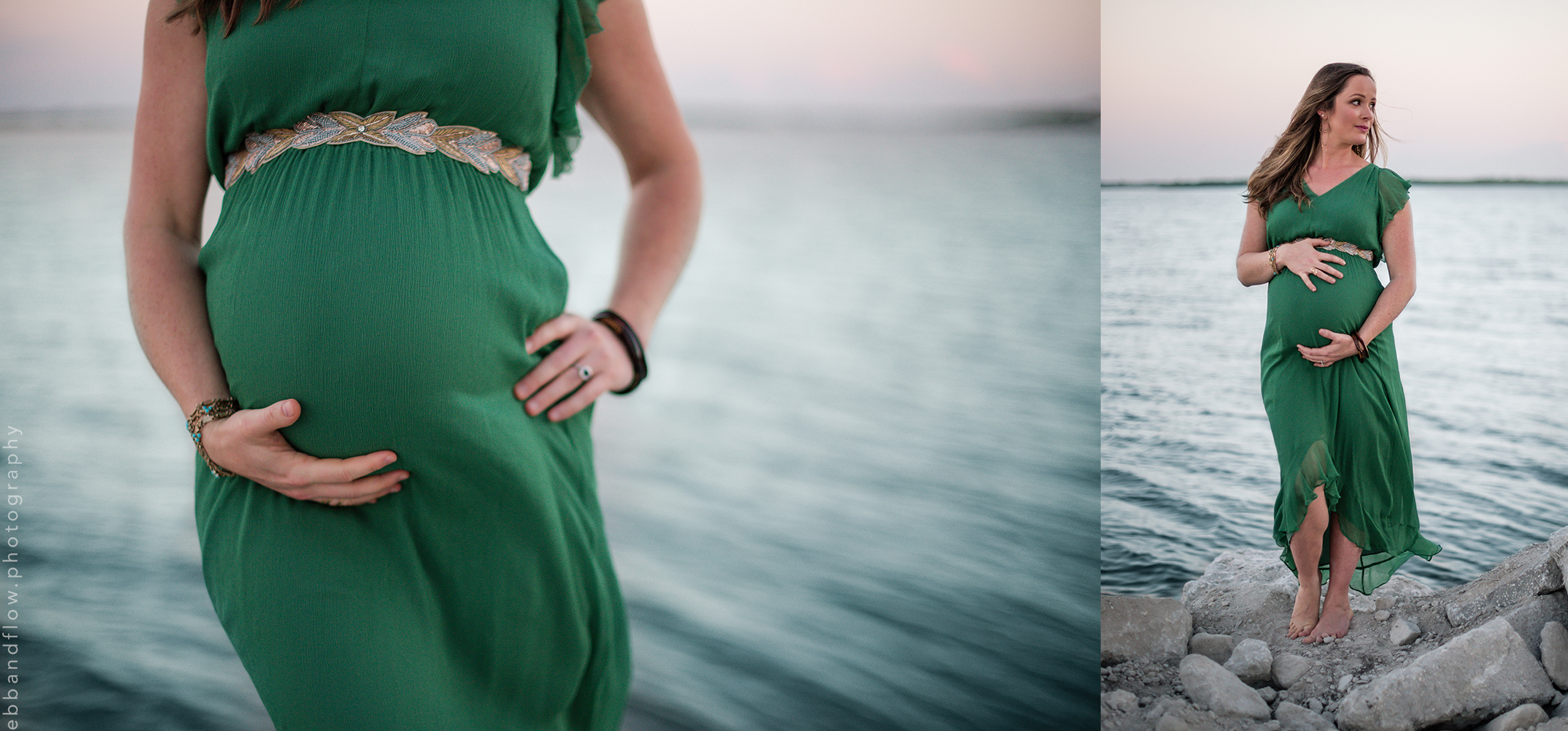 dreamy walk along the lagoon - vero beach maternity photographer - ebb and flow photography