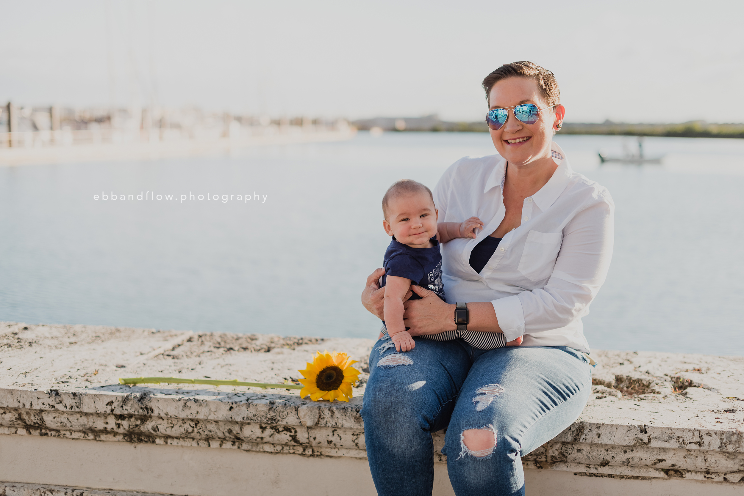 Fort Pierce family Photography - Ebb and Flow Photography -  mother daughter by the marina.jpg