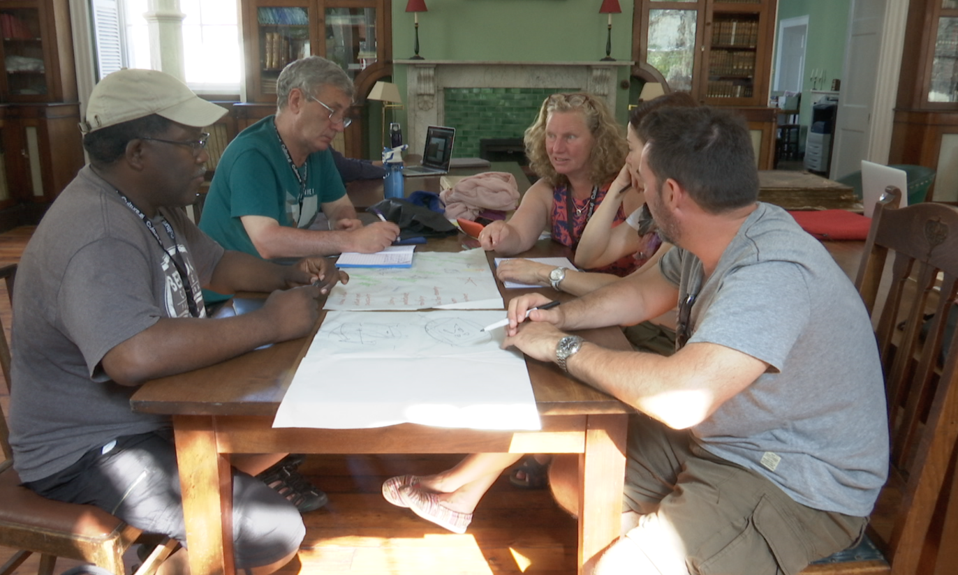 Island Games Art Residency sees visiting and local artists collaborate