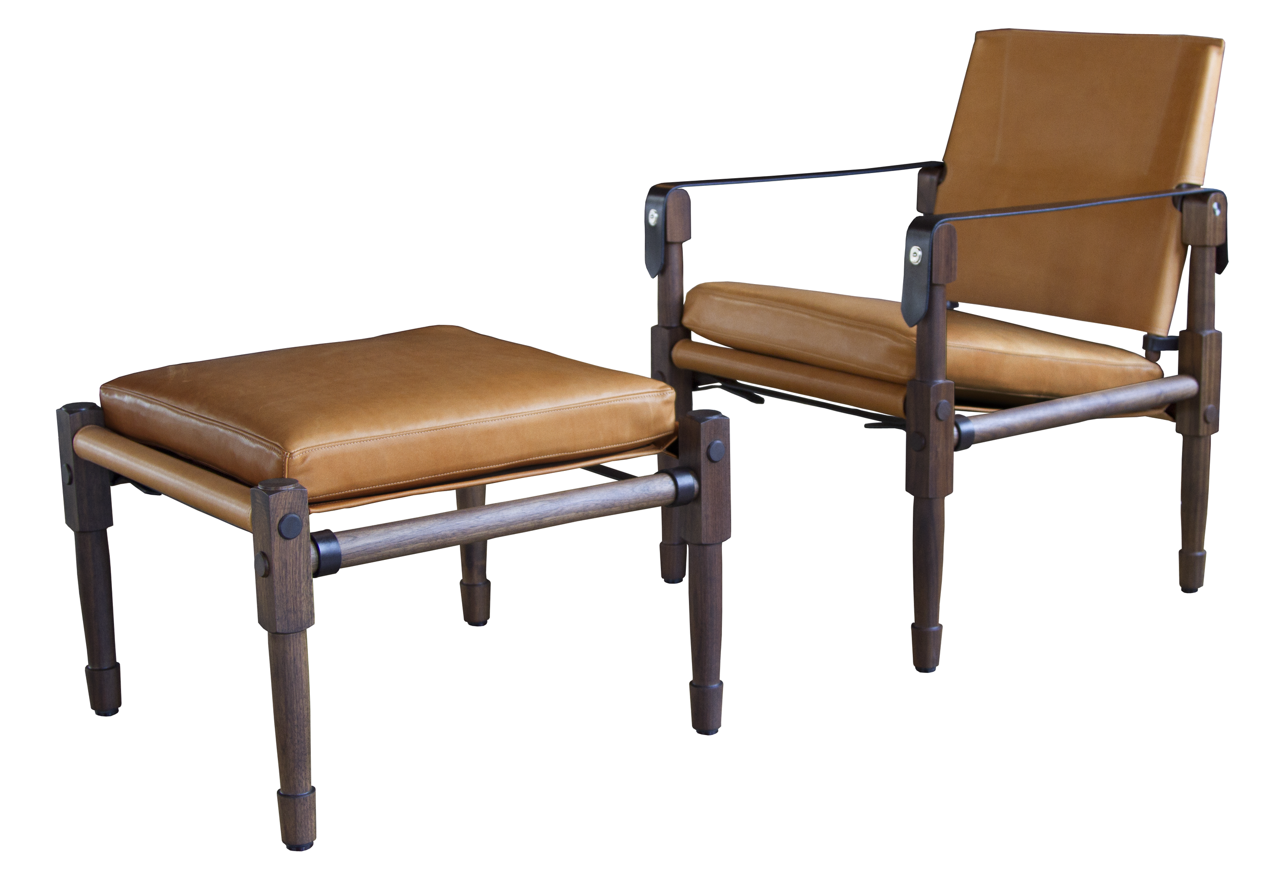 Chatwin Lounge Chair - Original and Ottoman