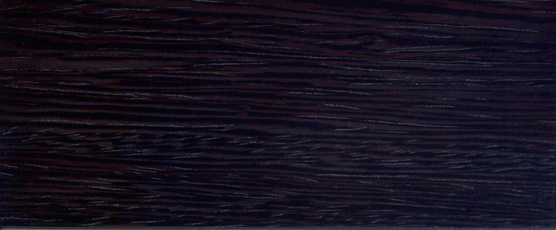wenge - dark stained
