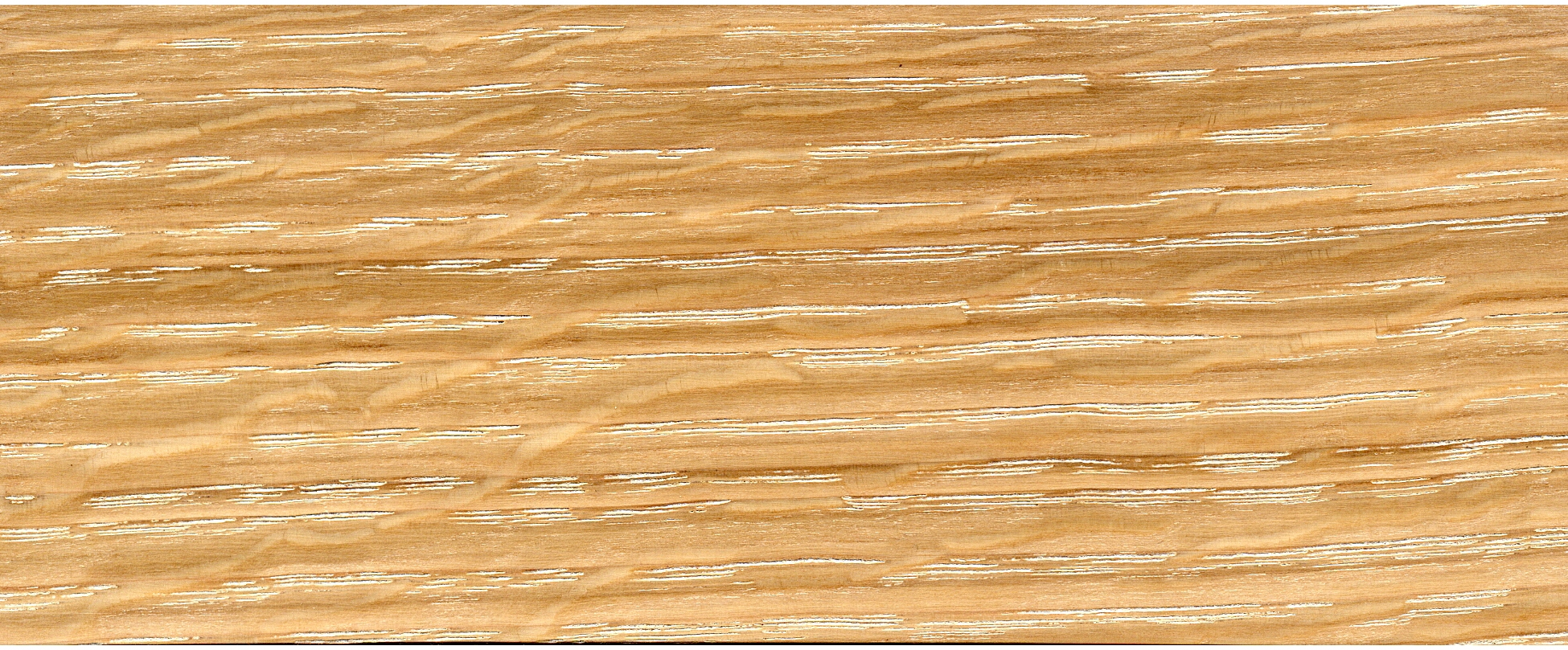 white oak - limed and oiled