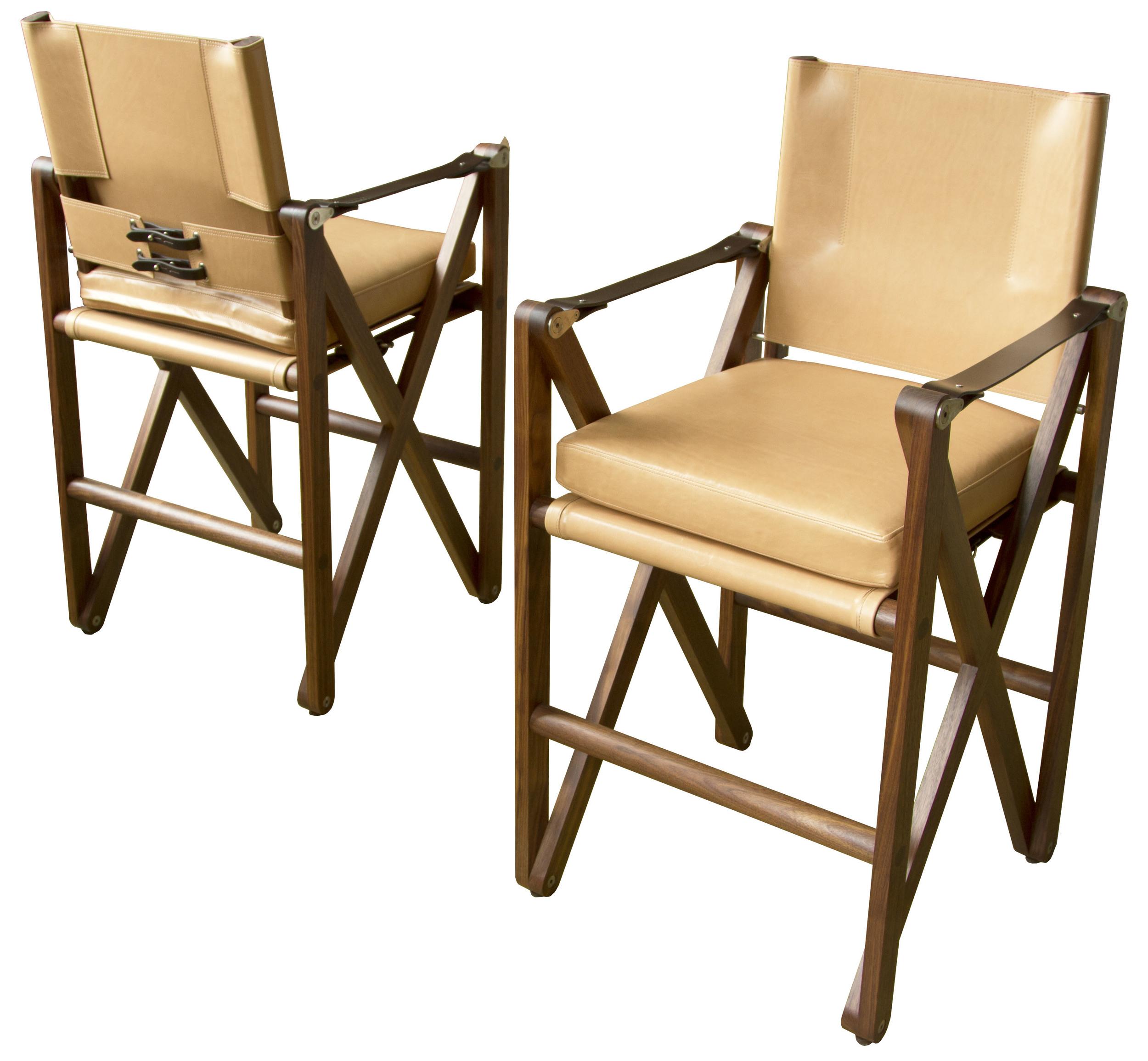 MacLaren Bar Chair in walnut - oiled