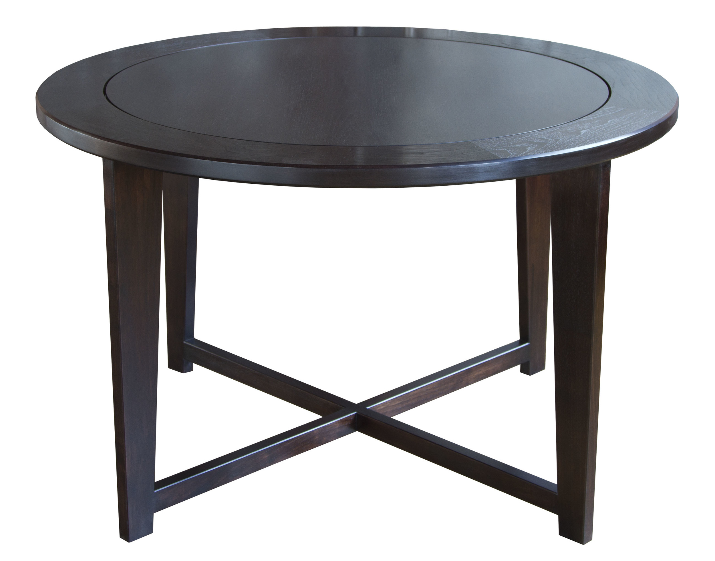 Hendricks Table in walnut - maccassar stain