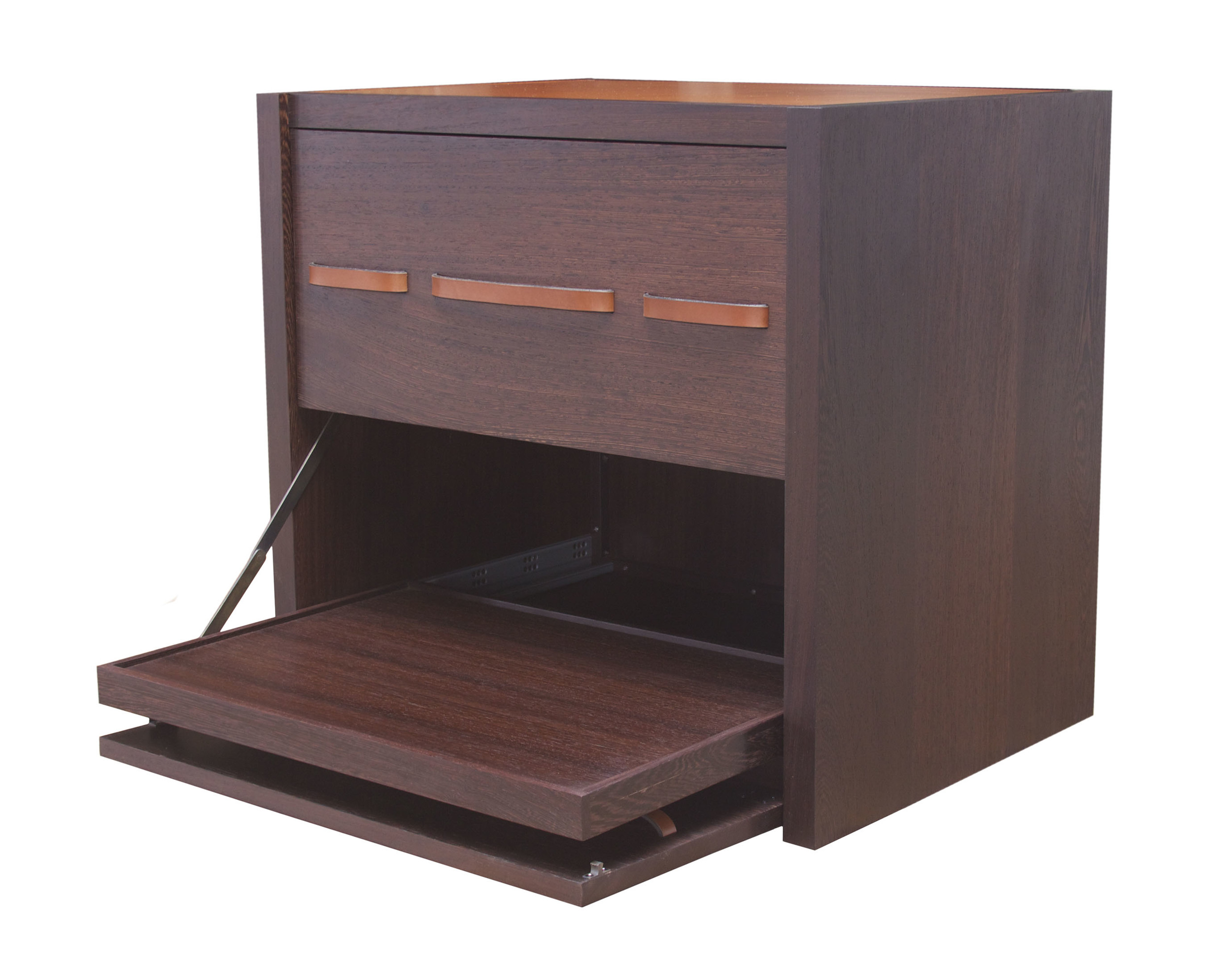 Seagram Side Table in wenge - oiled