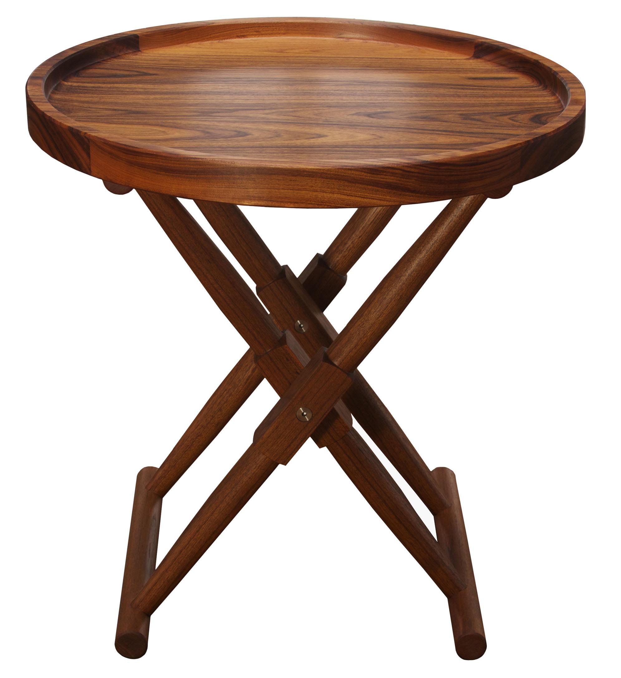 Matthiessen Round Tray Table