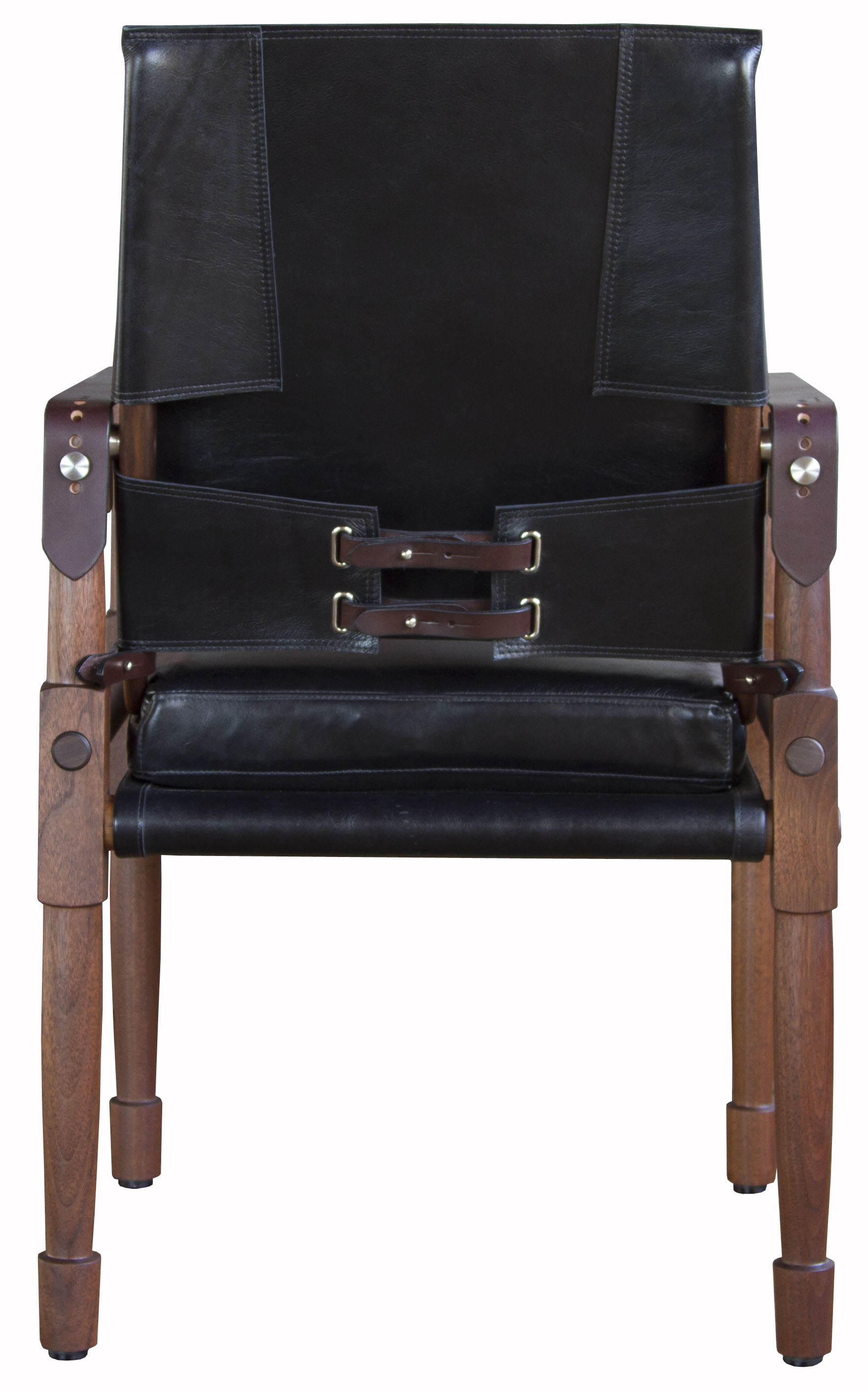 Oiled walnut with Moore & Giles Notting Hill: black and havana English bridle leather straps  11